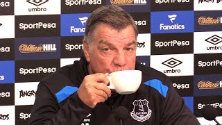 Sam Allardyce Full Pre-Match Press Conference - Everton v Manchester City - Premier League