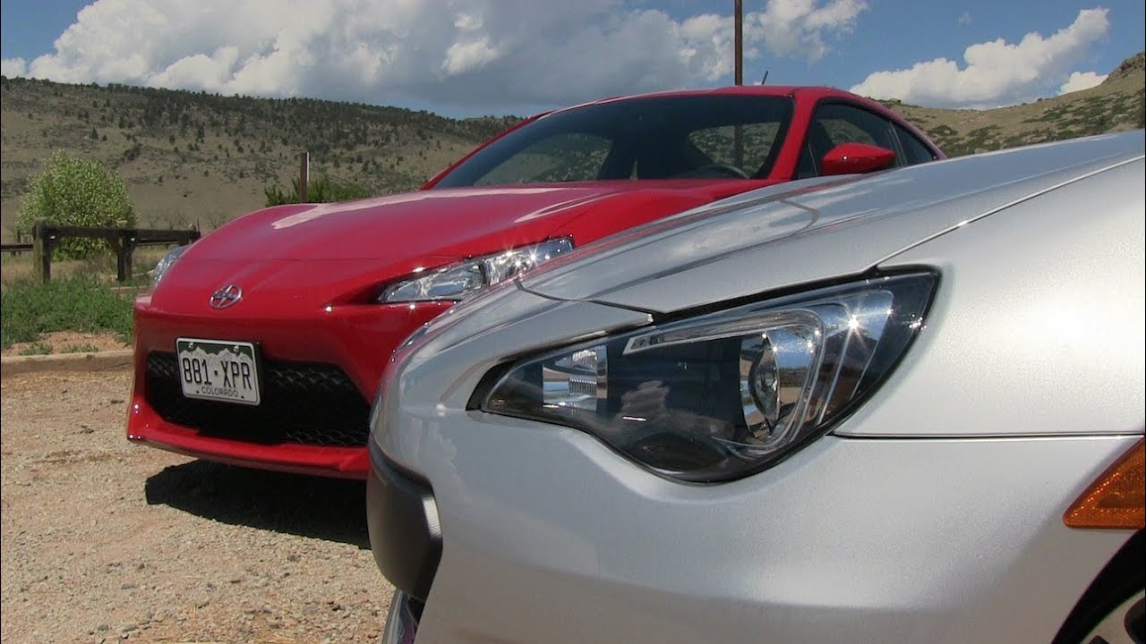 2013 Subaru Brz Vs Scion Fr S 0 60 Mph Mile High Mashup