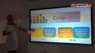 infoComm 2014: Преимущества видеопроекторов BenQ