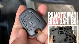 Central Lock, Power Window, Remote bisa dari BSI - PEUGEOT 206