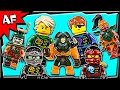 Lego Ninjago Minifigures Pirates Skybound 2016 Winter Collection video