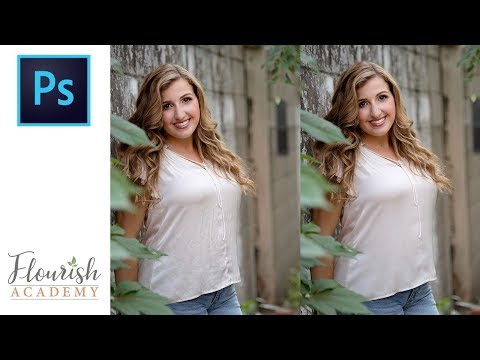 How To Iron Clothing (Remove Wrinkles) In Photoshop