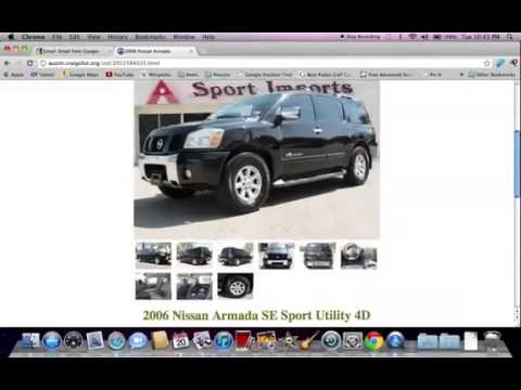 Craigslist Austin TX Used Cars line For Sale By Owner