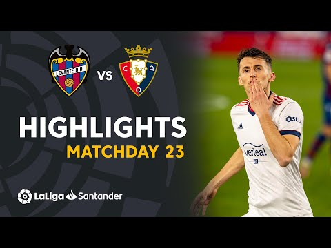 Levante Osasuna Goals And Highlights