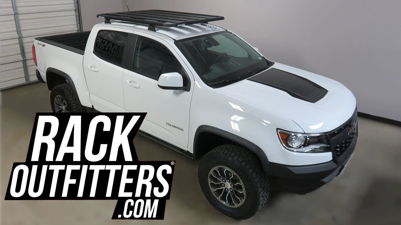 Chevrolet Colorado Crew Cab With Rhino Rack Pioneer
