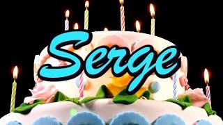 Joyeux Anniversaire Serge