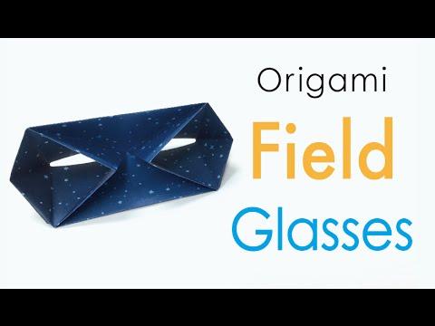 Easy☺︎Origami Paper Binocular (Opera Glass/Field Glasses) ♡for kids♡  - Origami Kawaii〔#169〕