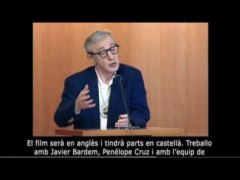 Woody Allen agraeix el doctorat honoris causa per la UPF