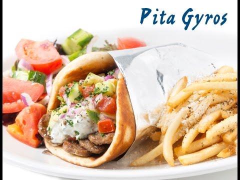 Ricetta Greca Pita.Pita Gyros Greca Ricetta Greek Gyros Pita Recipe Sub Eng Youtube