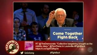 Bernie Sanders & Tom Perez Live from Louisville Palace - Kentucky -April 18th, 2017