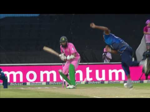 South Africa vs Sri Lanka - 3rd ODI - SA Innings Highlights