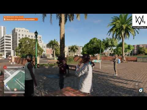 """Watch dogs 2 """"Mision Dolores  park"""" gameplay Ps4"""