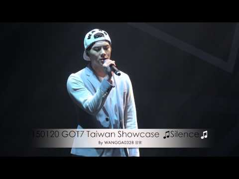 150120 GOT7 Taiwan Showcase Silence安靜 (Jackson focus) By WANGGA0328 왕家