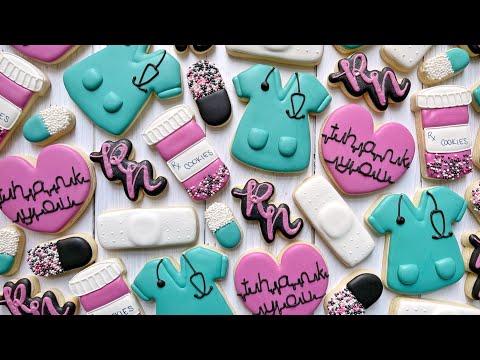 Nurse Appreciation ~ Satisfying Cookie Decorating