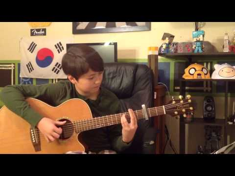Minecraft Song - Subwoofer Lullaby - Fingerstyle Guitar - Soundtrack / Theme Song