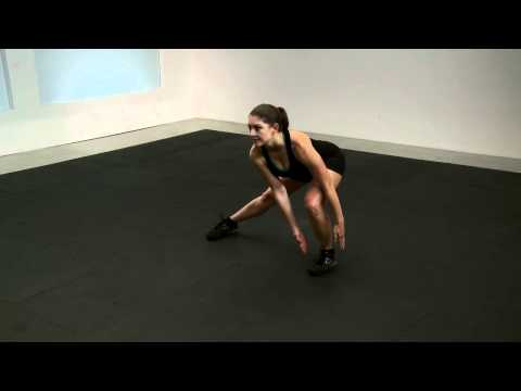 Lateral Lunge with Leg Lift