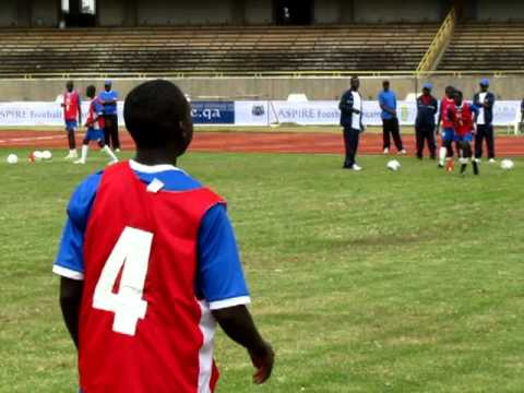 Aspire Football Dreams East Africa   Top 50 camp Tarining 2