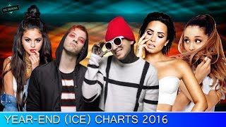 Ice Charts: Year-End Charts l TOP 100 FAVOURITE SONGS OF 2016
