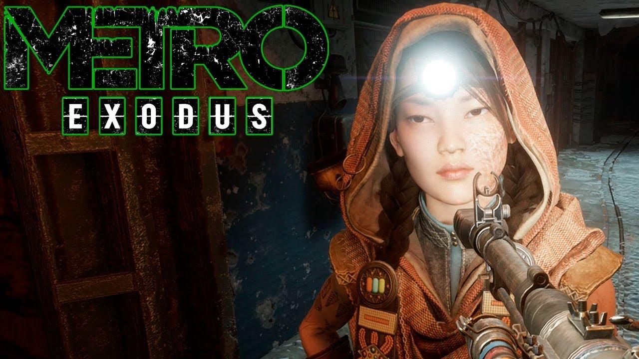 Спуск в шахту где много Больших Пауков и скорпионов! METRO Exodus Прохождение #9