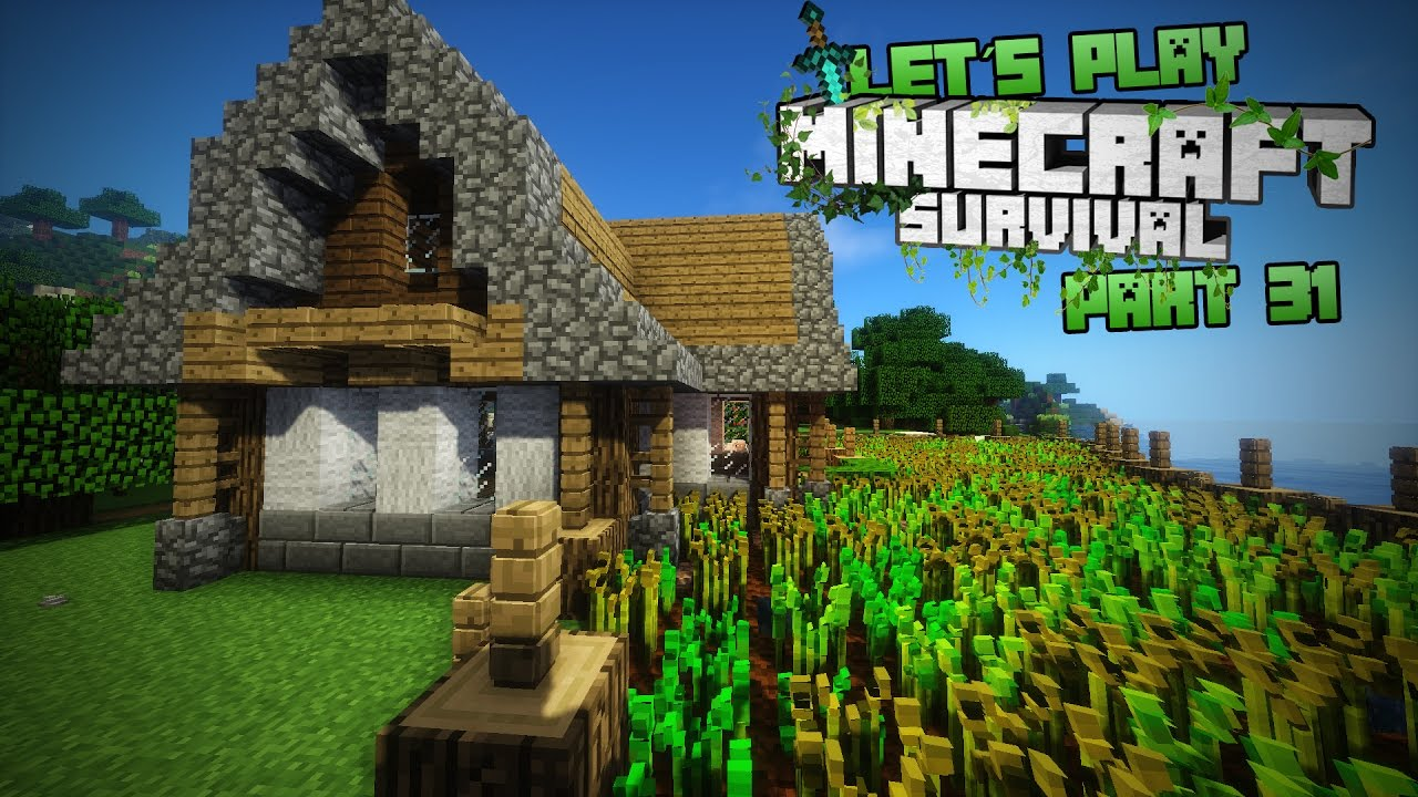 minecraft farmhaus