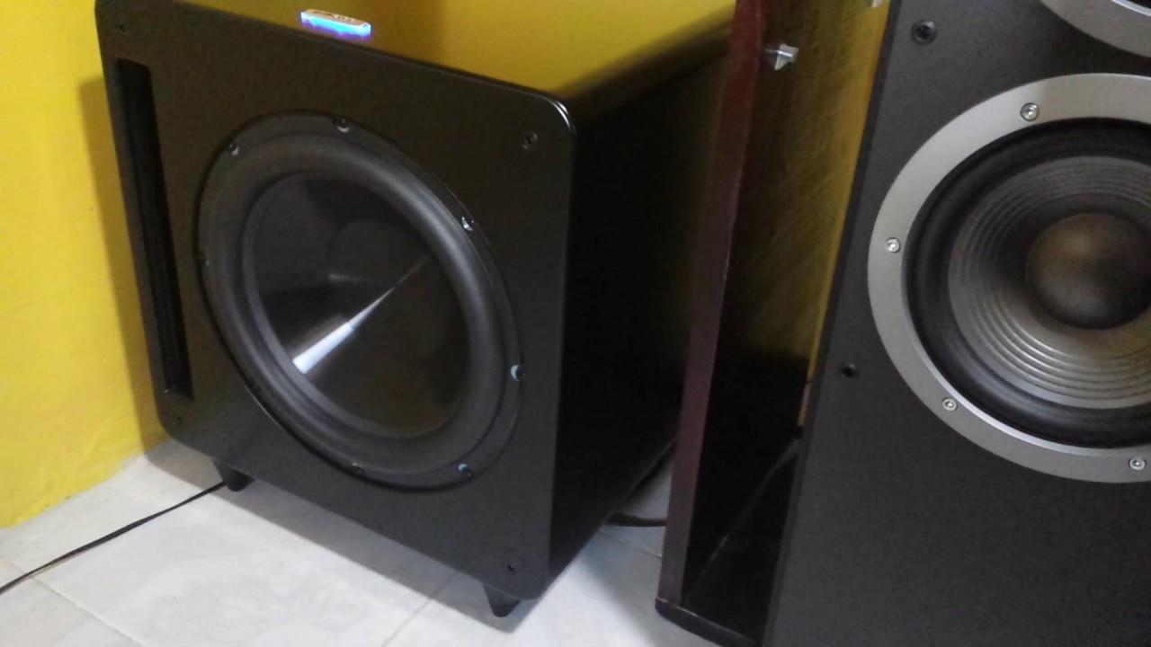 Polk Audio DSW PRO 660Wi Black