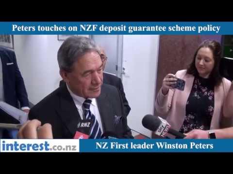 Peters on deposit guarantee scheme