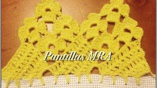 Puntilla para servilleta MRA 6