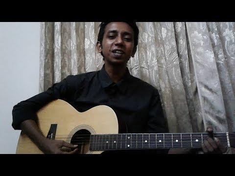 Amar Pran Dhoriya Maro Tan | Guitar Cover | Abar tora Shaheb Ho