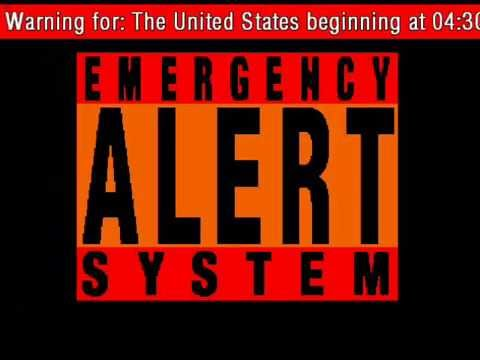 Emergency Alert System Zombies Rise - YouTube