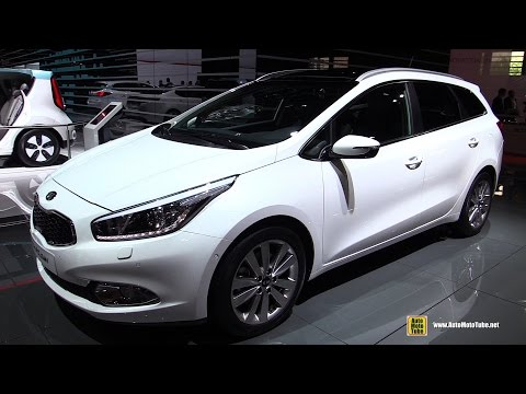2015 KIA Ceed SW Wagon Diesel Premium Exterior and Interior Walkaround 2014 Paris Auto Show