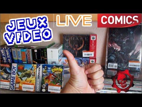 [AMG #31] LIVE de CASH américain - Jeux vidéo rétro, Comics & BD