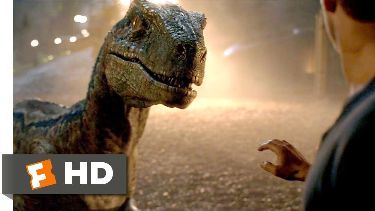 Kleurplaten Dinosaur.Jurassic World Fallen Kingdom 2018 Goodbye Blue Scene 9 10 Movieclips