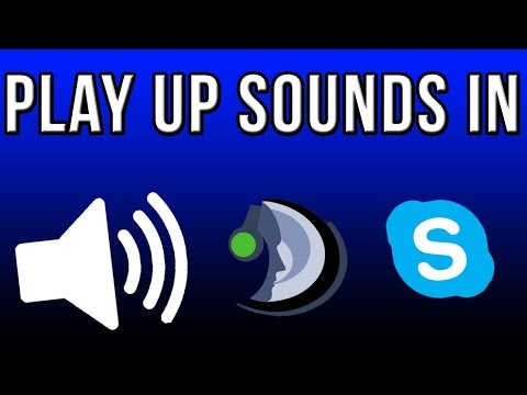 How To Play Up Sounds/Music In Voice Chat Softwares!