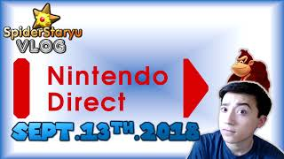 SpiderStaryu's Opinion on 09/13/2018 Nintendo Direct