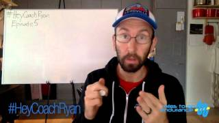 #HeyCoachRyan Episode 5: Should I wear a hydration vest during a road marathon?