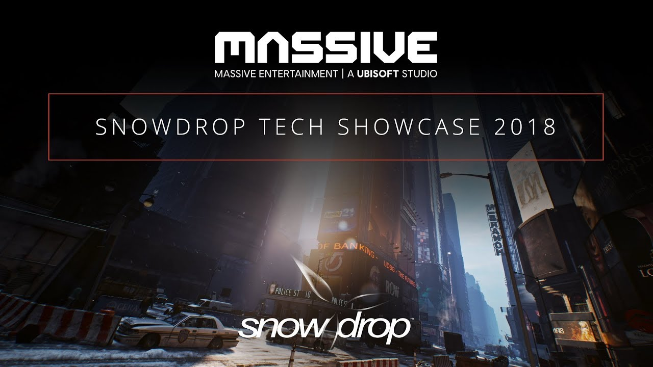 Snowdrop Tech Showcase 2018