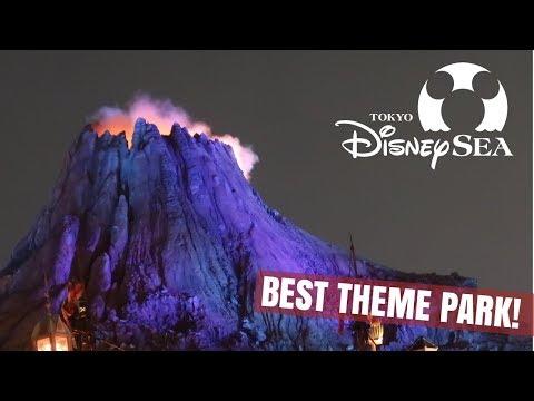 Tokyo DisneySea - The Best Theme Park on EARTH!