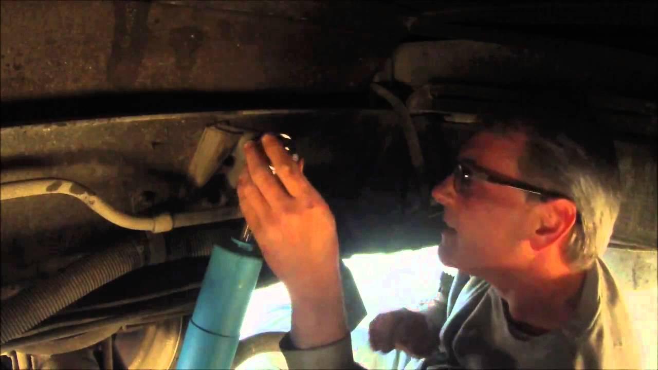 Installing new bilstein shocks on rear of motorhome 20 min job