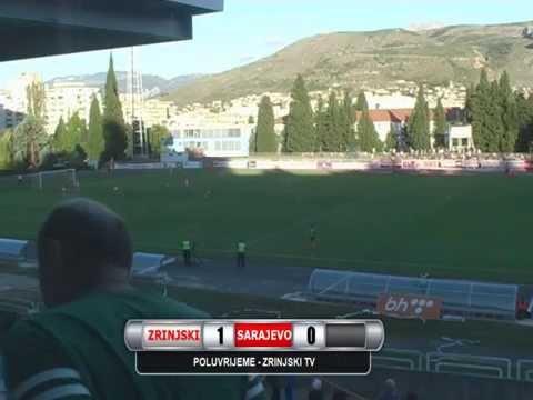 HŠK Zrinjski - FK Sarajevo 1:1 (cijela utakmica)