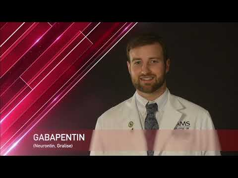 Gabapentin Medication Information (dosing, Side Effects, Patient Counseling)