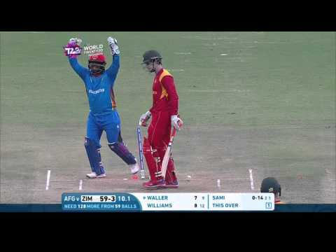 ICC #WT20 Afghanistan vs Zimbabwe Match Highlights thumbnail