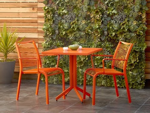 Orange Patio Furniture You