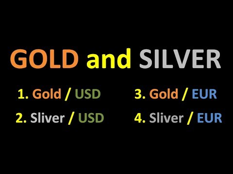 1D Draw Trend Precious metal Gold USD and EUR Silver USD and EUR Daily Chart HD 055 cAlgo and cTrade