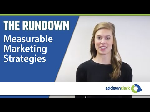 The Rundown: Measurable Marketing Strategies