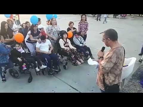 Aspace Lugo organizó varios actos por el Día de la Parálisis Cerebral