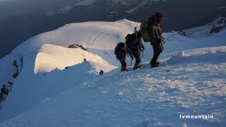 9952_#3 Mont-Blanc 2013 voie normale Refuge du Goûter sommet du Mont-Blanc