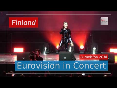 Finland Eurovision 2018 Live (4K): Saara Aalto - Monsters - Eurovision in Concert