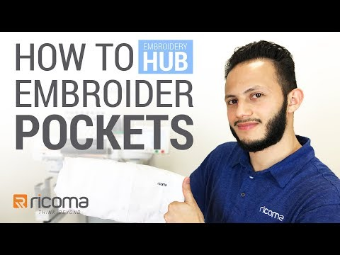 Embroidery Hub Ep. 06: Pocket Embroidery | How to Embroider Pockets Tutorial