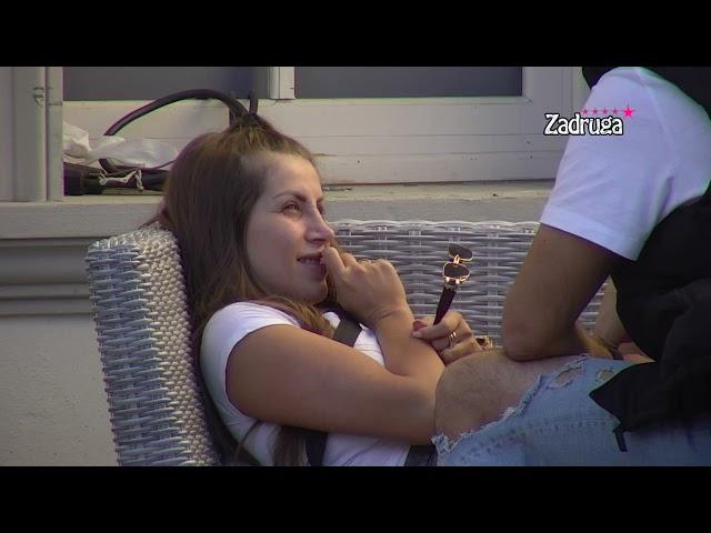 JEDNOM KADA UMREŠ ZA MENE, MRTVA SI SKROZ: Dejan Dragojević obratio se Dalili devojačkim prezimenom, zadrugarka van sebe od besa (VIDEO)