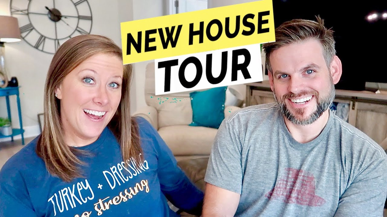 New House Tour Cullen Katie Youtube